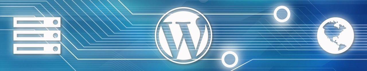 WordPress hosting banner